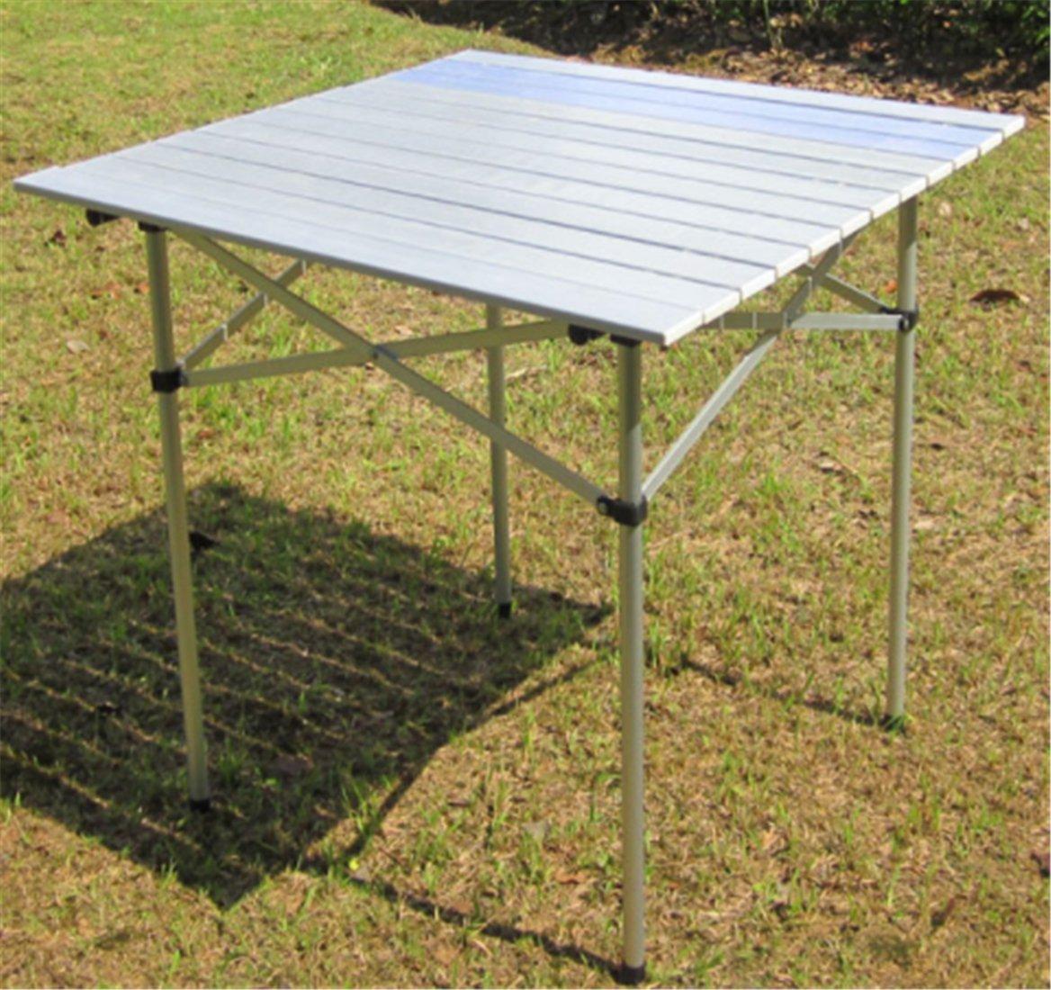 Yeying123 Aluminiumtisch Der Klapptischaluminium Im Freien Tragbares Einfaches, Grilltisch Zu Tragen