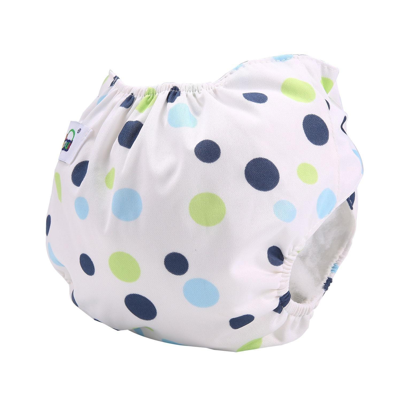 Baby Swim Diaper, niceEshop(TM) Reusable Baby Swim Pants, Adjustable Diapers for Infant Toddler