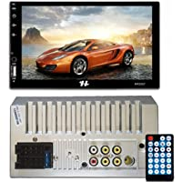 "Central Multimídia Universal MP5 7"" 2 Din BT USB Espelhamento FM RCA Micro SD Hurricane - HR5007"
