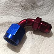 XRP 920506 Size 6 90 Degree Female Swivel to Male Flare Adapter