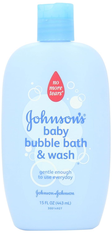 Johnson's Baby Bubble Bath , 15 Ounce (Pack of 2) Johnson' s Baby