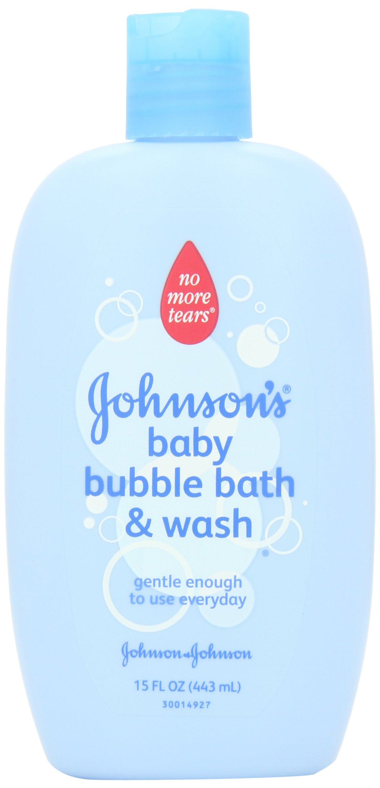 Johnson's Baby Bubble Bath and Wash, 15 Ounce