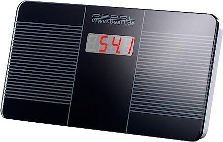 446 g di luce ultra compatto Display a LED Piccoli Bilance pesapersone PEARL Bilance da viaggio: Bilance pesapersone da viaggio digitali