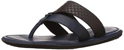 Hush Puppies Men's Fermo III Leather Flip Flops Thong Sandals Thong Sandals at amazon
