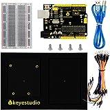 Arduino UNO R3ボード+400ホールブレッドボード+ Arduinoホルダー+ Arduinoスターターキット用Usbケーブル用KEYESTUDIO