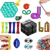 Fidget Pack, Fidget Toys Cheap Fidget Toys Set Sensory Fidget Toys for Kids Adults, Simple Dimple Fidget Toys, Stress…