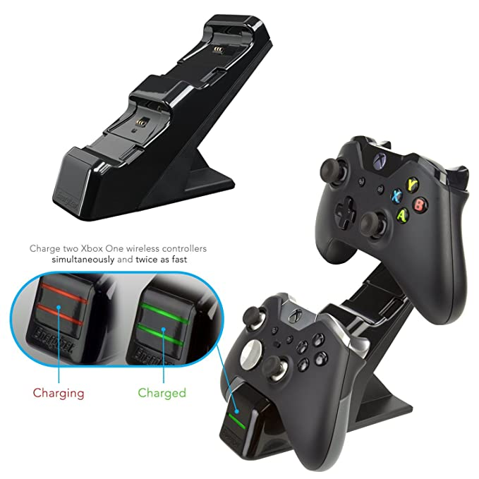 PDP - Cargador Energizer 2 Mandos (Xbox One): Amazon.es ...