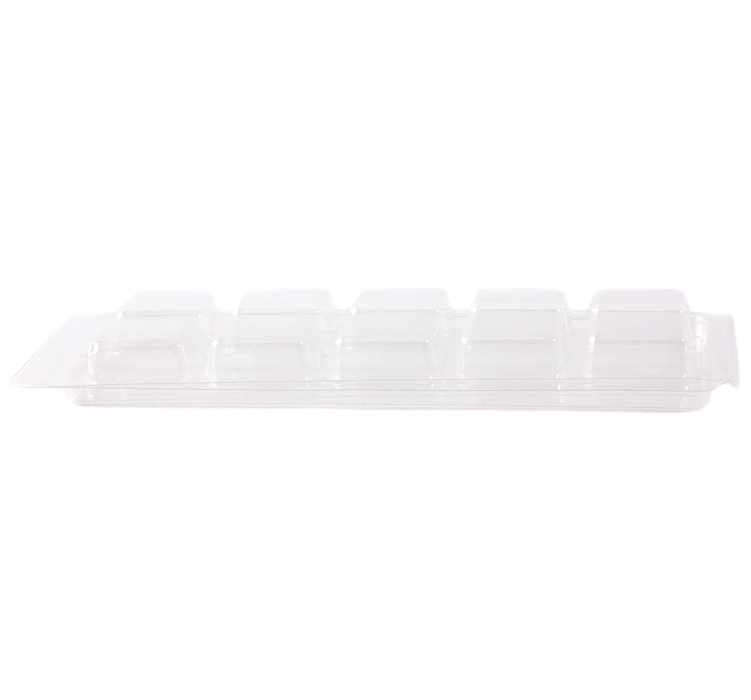 World Of Moulds 10 Cavity Wax Tart Clamshell Mould x 10