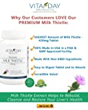 Milk Thistle Pure Extract - Silymarin for Liver