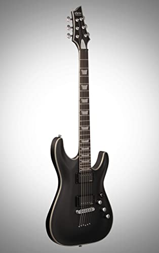 Schecter Guitar Research C-1 Platinum Electric Guitar Satin Black