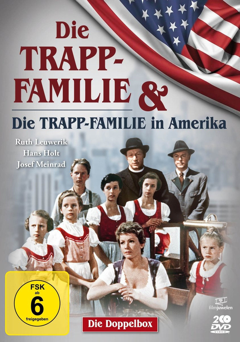 Amazon Com Die Trapp Familie Die Trapp Familie In Amerika Doppelbox Movies Tv