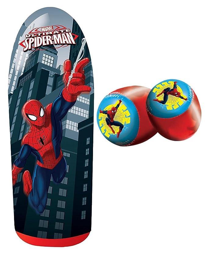 Amazon.com: Socker Boppers Spiderman Power Bop Combo: Toys ...