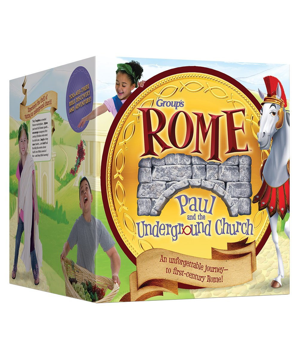 Rome: Paul and the Underground Church VBS Ultimate Starter Kit 2017 Group Publishing Vacation Bible School Curriculum Sets