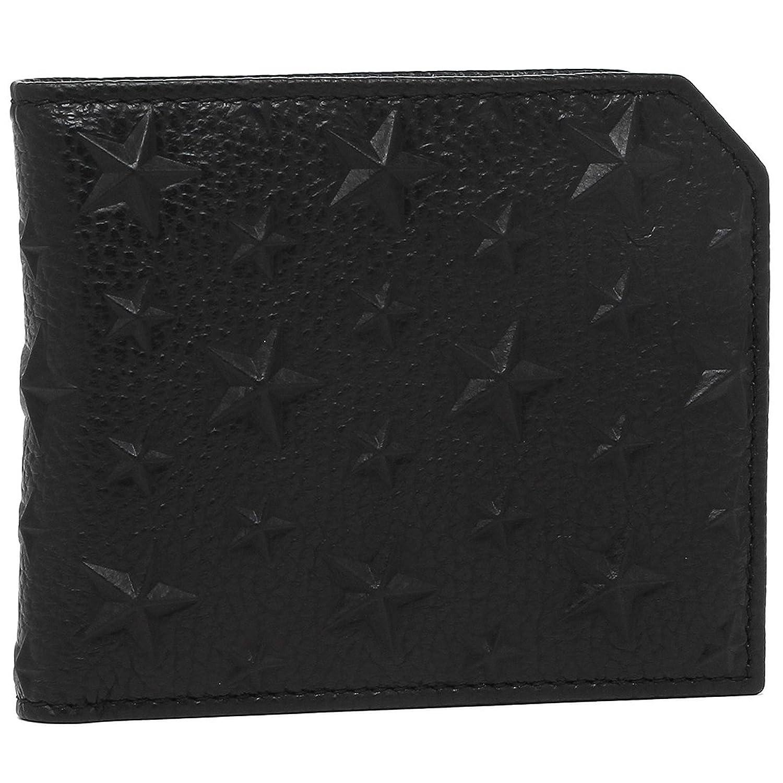 [ジミーチュウ] 二つ折り財布 メンズ JIMMY CHOO ALBANY BLACK ブラック [並行輸入品] B07BD5B9QK