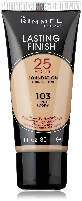 Amazon.com : Rimmel Lasting Finish 25 Hour Liquid Foundation True Ivory : Foundation Makeup : Beauty