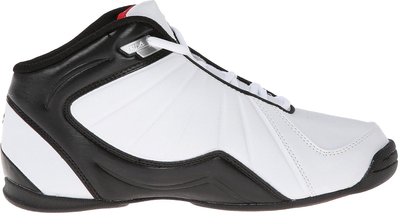 Fila Zapatos Hombres Rojo Y Negro cV7CT1v