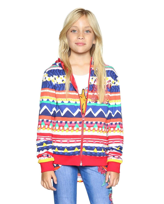 Sizes 5-14 Desigual Girls Sweatshirt Poe