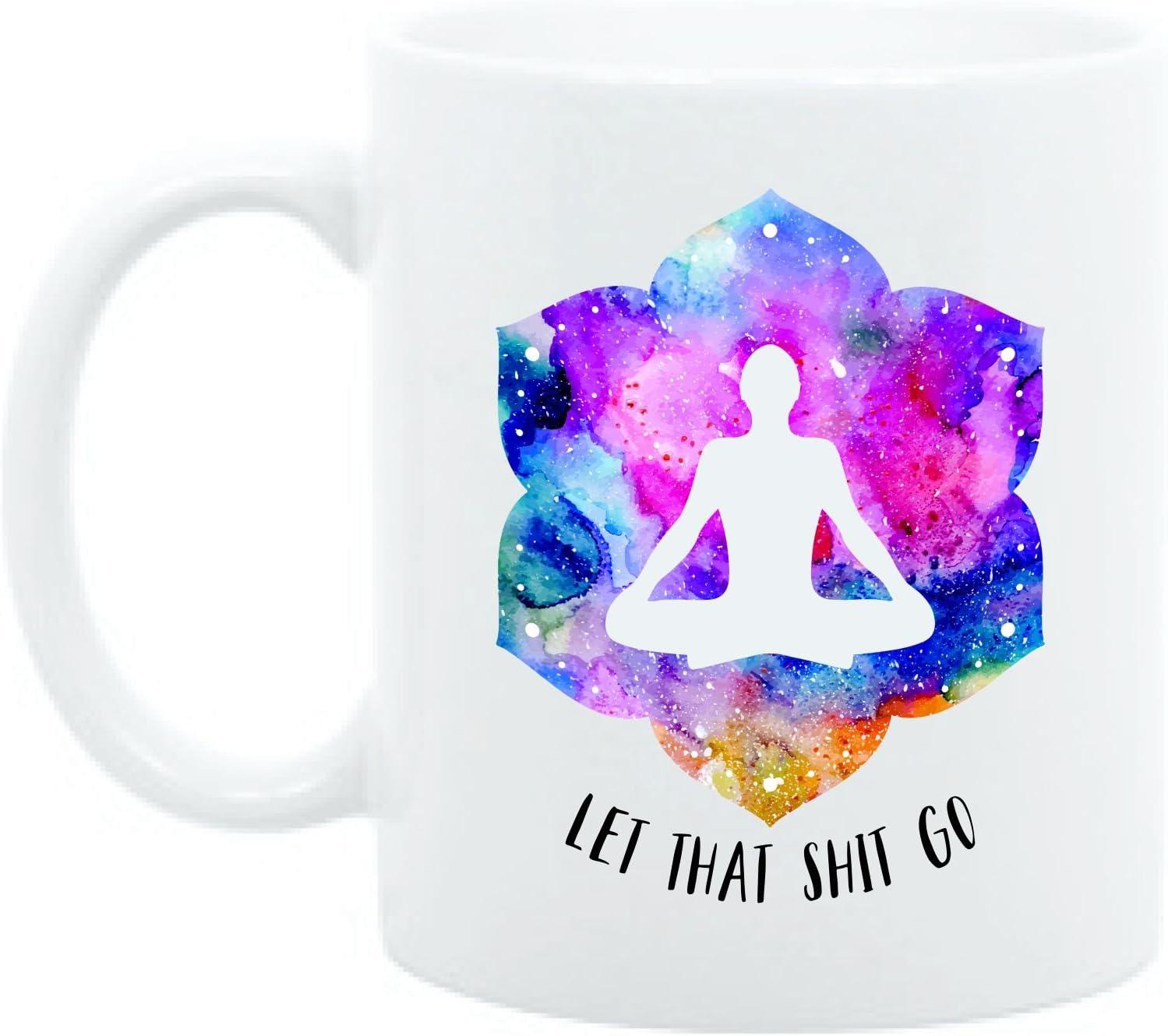 Amazon.com: Yoga regalo, Let que Go, accesorios de yoga ...
