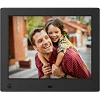 NIX Advance Digital Photo Frame 8 inch X08E. Electronic Photo Frame USB SD/SDHC. Clock and Calendar Function. Digital Picture Frame with Motion Sensor. Remote Control Included