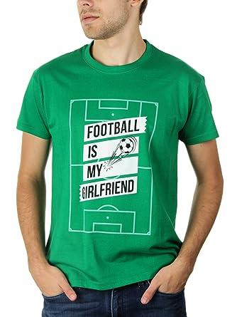 Football Is My Girlfriend - Herren T-Shirt von Kater Likoli, Gr. S