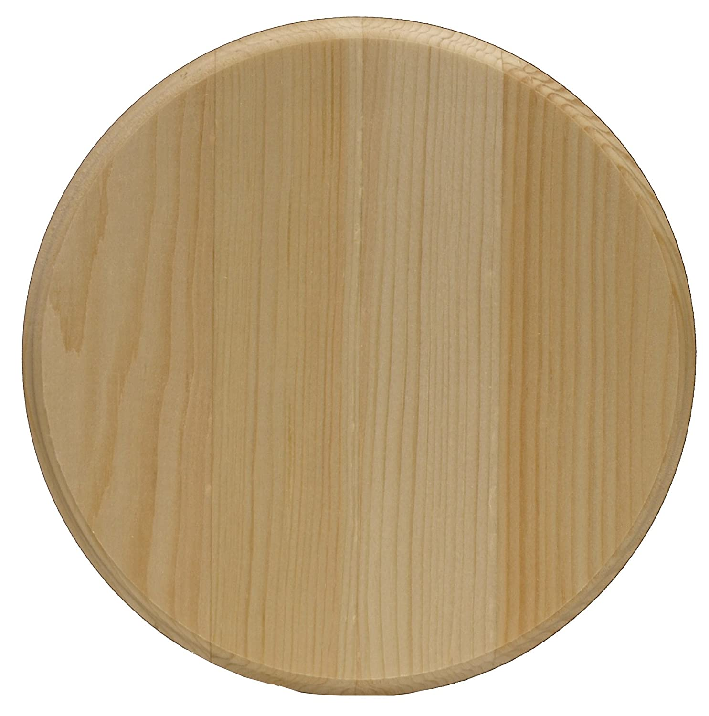 Circle Pine Plaque-8X8 Walnut Hollow 1618