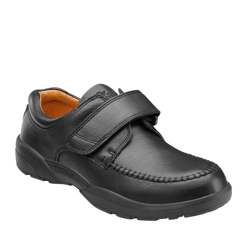 Dr. Comfort Men's Scott Black Diabetic Casual Shoes 9 4E US
