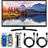 """LG 32"""" Screen LED-lit Monitor (32MP58HQ-P) with Xtreme Performance TV/LCD Screen Cleaning Kit, Xtreme 6 Outlet Power Strip & 2x General Brand HDMI to HDMI Cable 6'"""