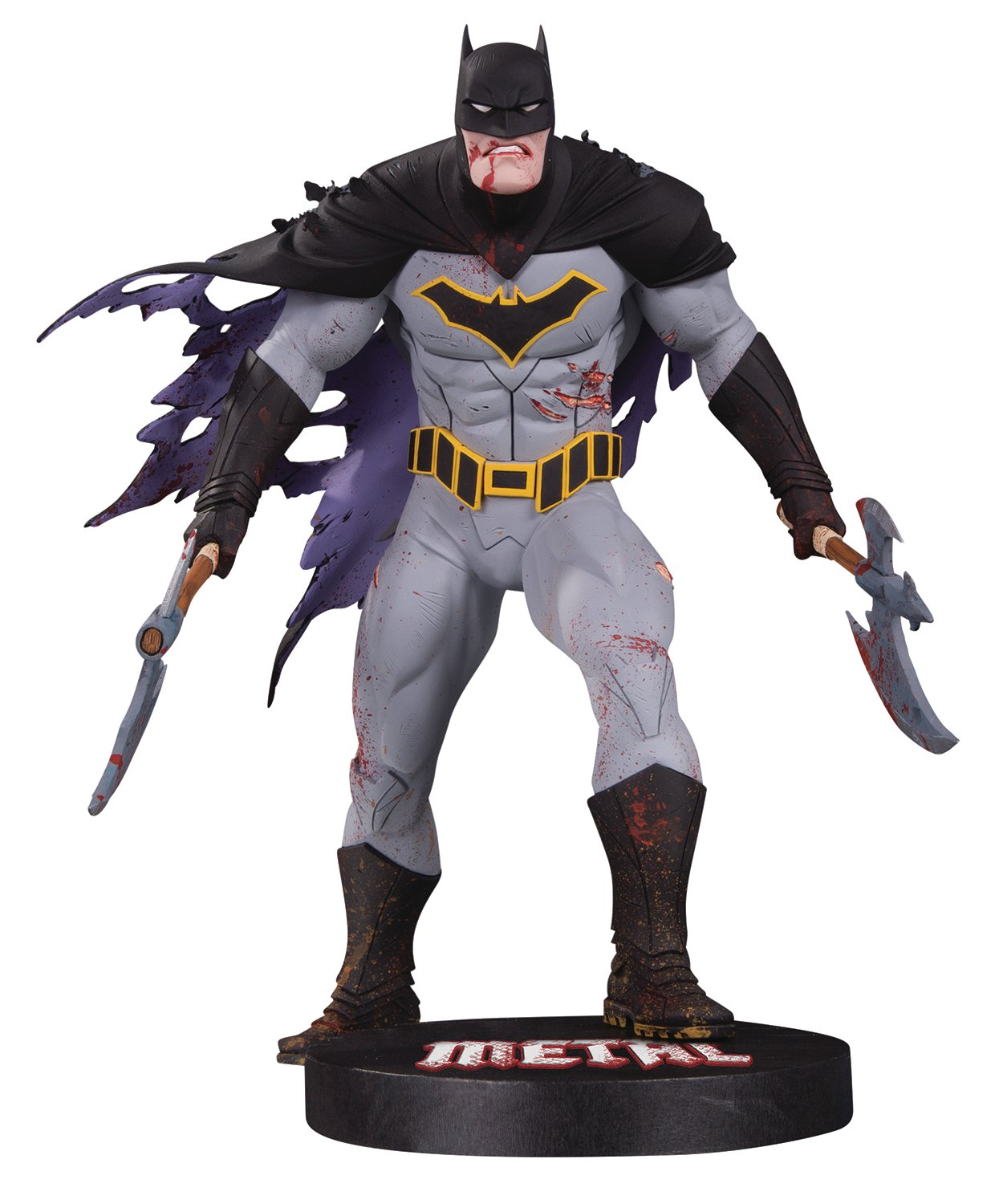 DC Collectibles DC Designer Series: Metal Batman by Greg Capullo Resin Statue