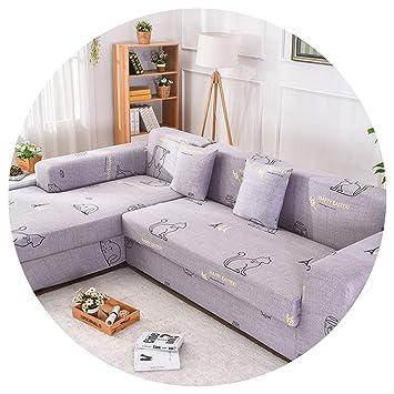 Amazon.com: Funda de sofá 2 piezas/juego de funda de sofá ...