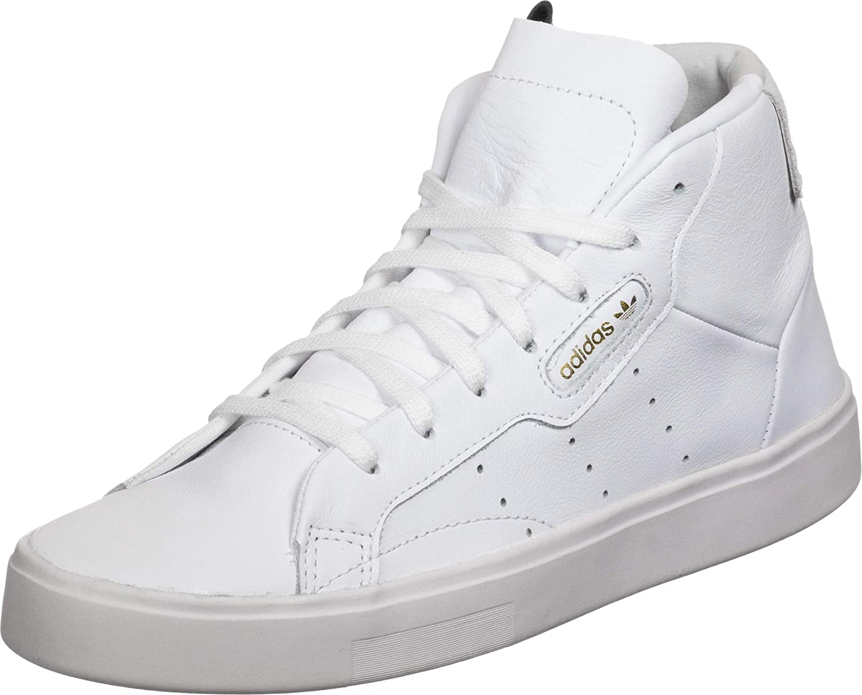Paleto Fascinante Alcanzar  Amazon.com | adidas Originals Adidas Sleek Mid W Trainers Women Black High  Top Trainers Shoes | Shoes