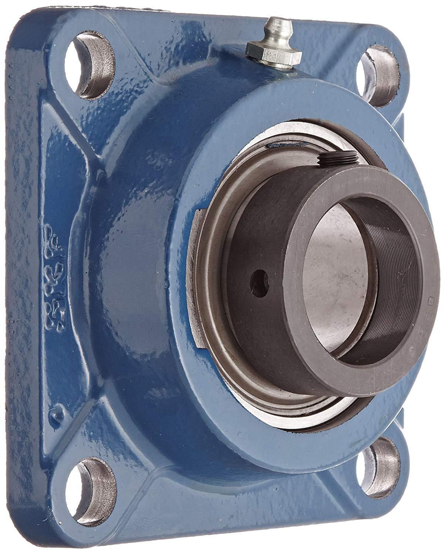 SKF F4B 108-FM Ball Bearing Flange Unit, 4 Bolts, Eccentric