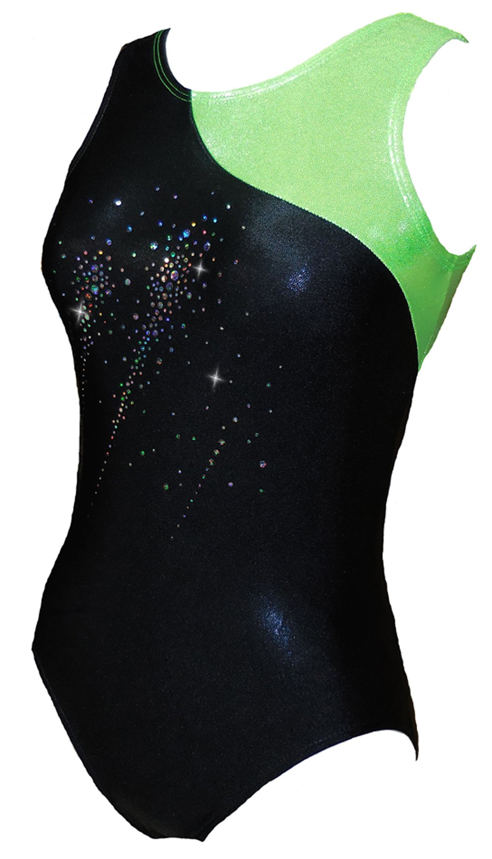 Look-It Activewear Falling Stars Leotard for girls and women (Adult Medium (size 6-8)) by Look-It Activewear