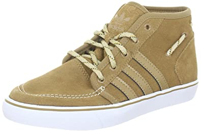 best loved f04a0 52917 adidas Originals Mens Court Deck Mid Sports Trainers Grey Size 7.5 UK