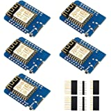 IZOKEE D1 Mini NodeMcu Lua 4M Bytes WLAN WIFI Internet Development Board Base on ESP8266 ESP-12F for Arduino, 100…