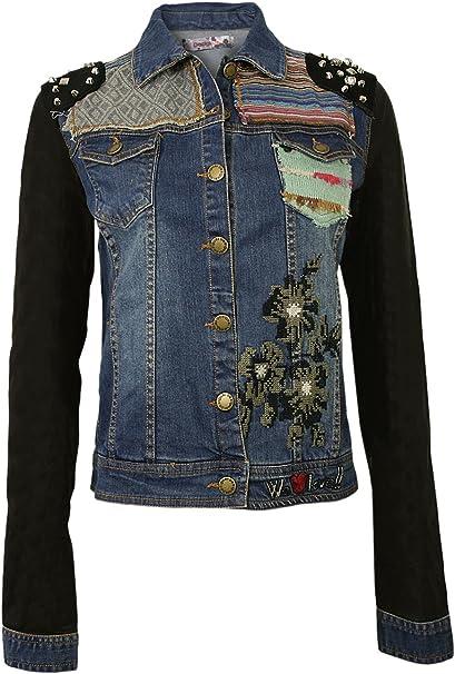 designer jeans damen jacke
