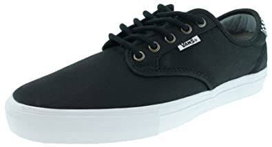 Vans CHIMA FERGUSON PRO Pro Skate waxed twill black checkers Gr.45