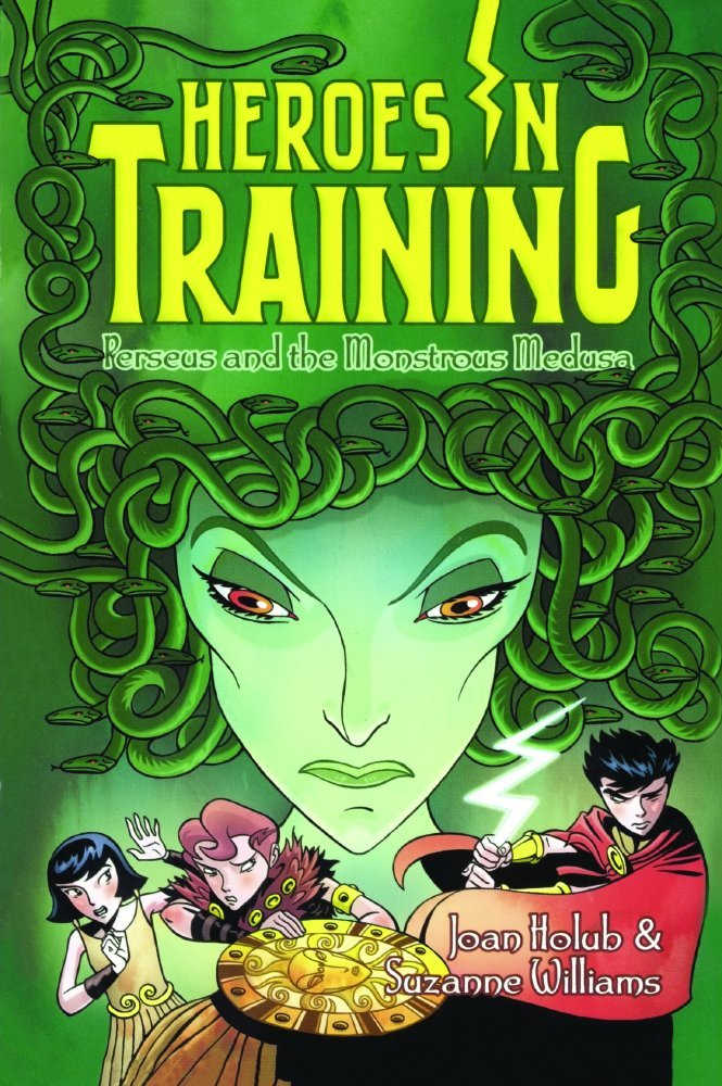Read Online Perseus And The Monstrous Medusa (Turtleback School & Library Binding Edition) (Heroes in Training) PDF