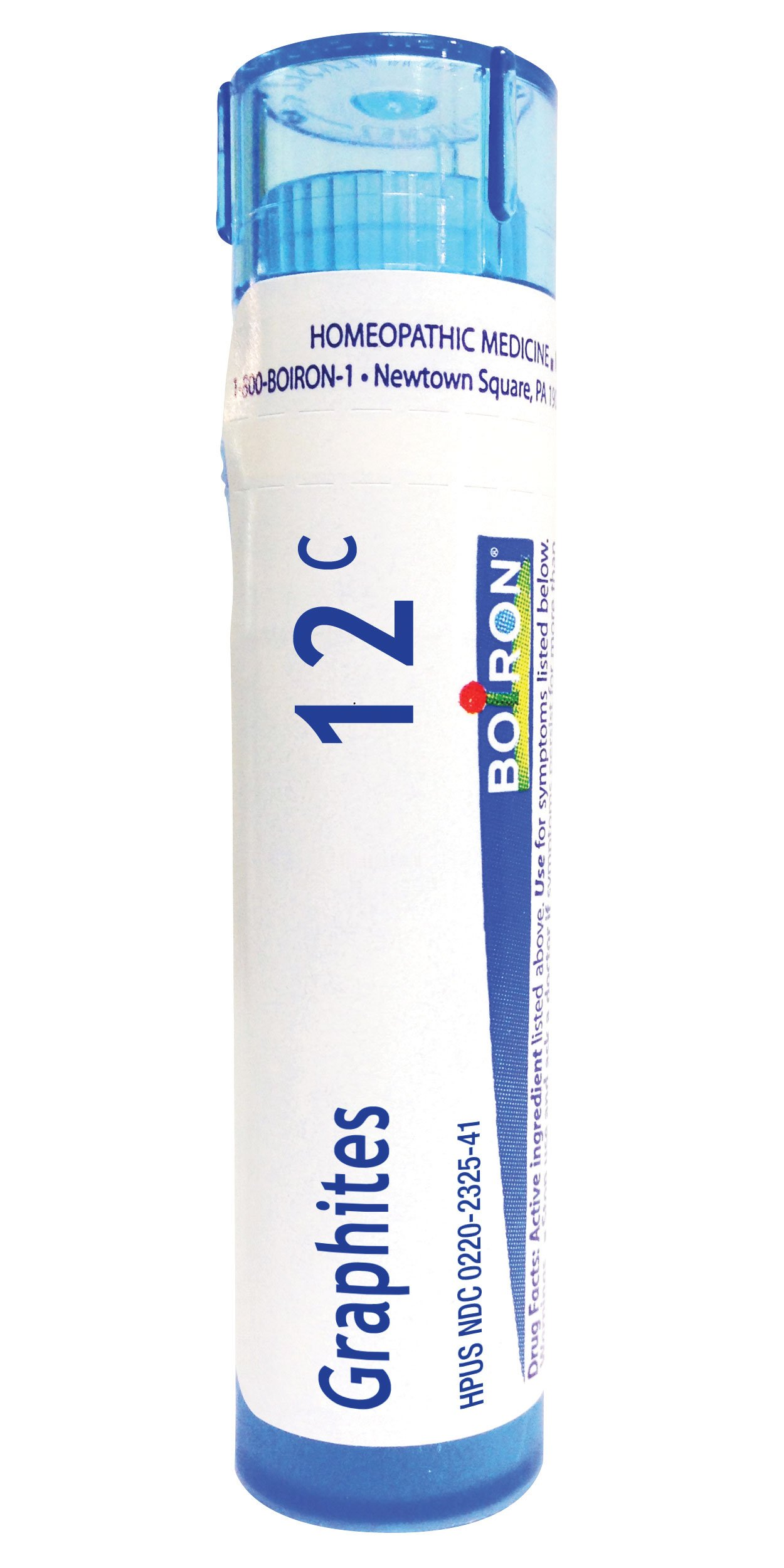 Boiron Graphites 12C, 80 Pellets, Homeopathic Medicine for Scars