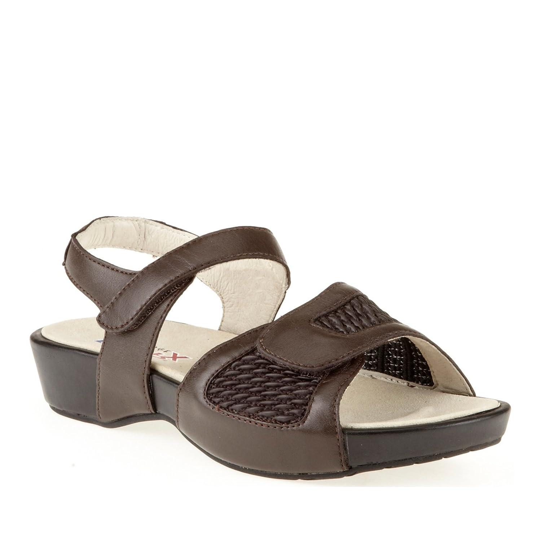 Propet Women's Khloe Sandal B008DC89BO 6 E US|Bronco Brown