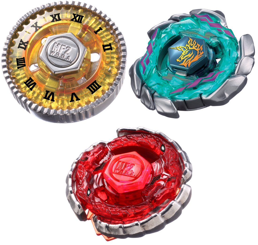 Beyblades JAPANESE Metal Fusion Set #BB117 Ultimate Bey Set Takara BB-117