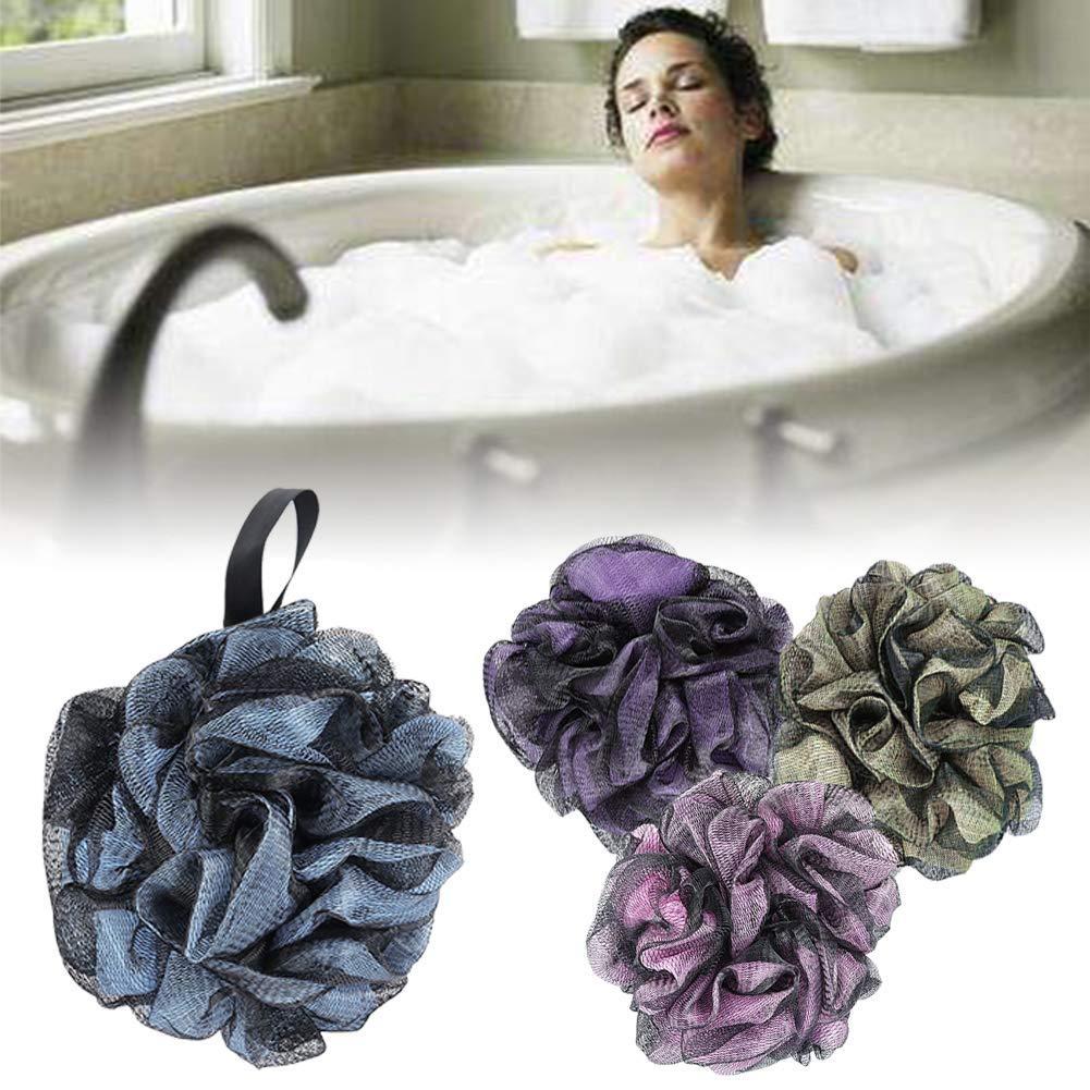 Gil En El Jacuzzi.Amazon Com Loofah Bath Sponge 4 Sets Soft Mesh Bath Shower