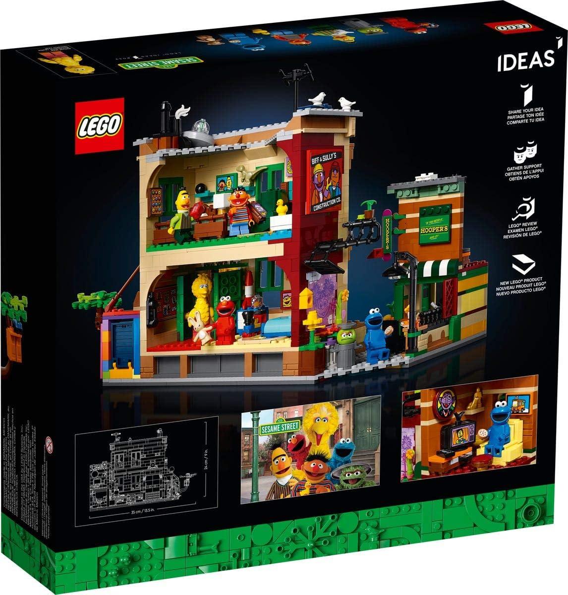 Lego IDEAS 21324 Minifigur Oscar the Grouch idea078 Sesamstraße Sesame Street