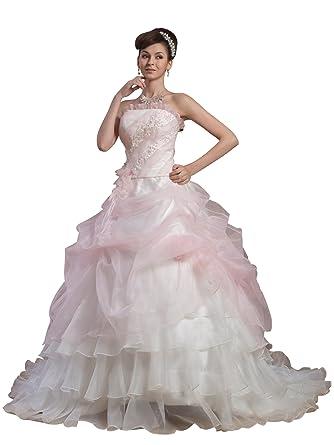 ImPrincess Wedding Dress Medieval Style NO.ip4-5613 at Amazon ...