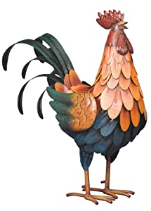 Regal Art & Gift 10190 Golden Rooster Decor Medium Multicolor