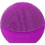 FOREO LUNA play plus spazzola viso portatile Purple, Spazzola impermeabile con batteria sostituibile