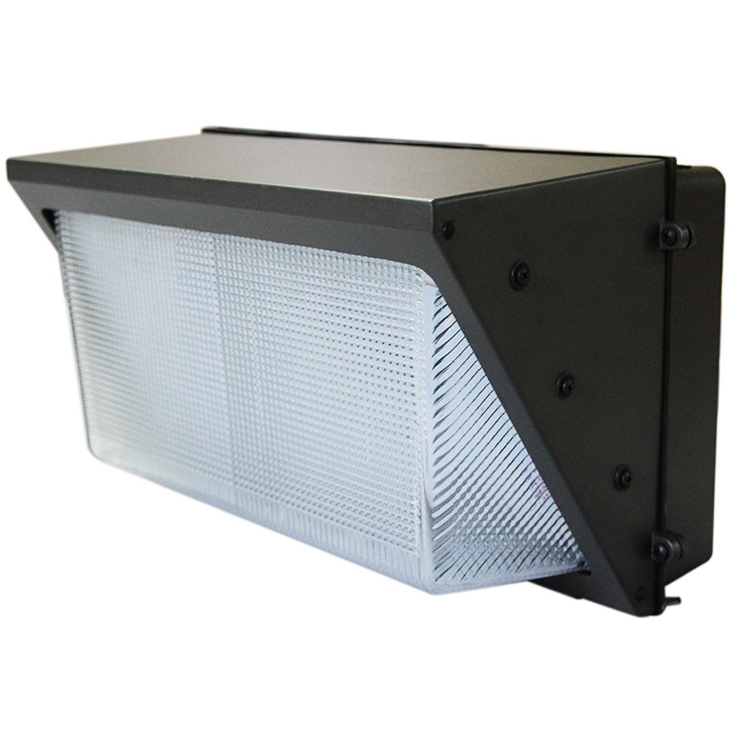100W LED Wall Pack (300-400 Watt HPS/HID Replacement) 5000K (Daylight), Commercial Grade, Glass Lens, Outdoor Lighting Fixture, UL Listed DLC Qualified by US Green Lighting