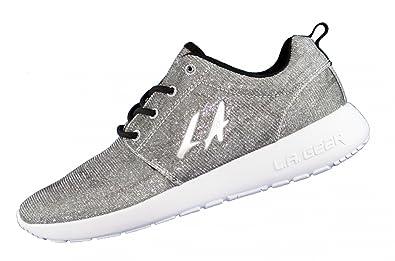 wholesale dealer 72354 aa4a6 L.A. Gear Sunrise L37360804 Silber Damen Sneaker, Größe:38 ...