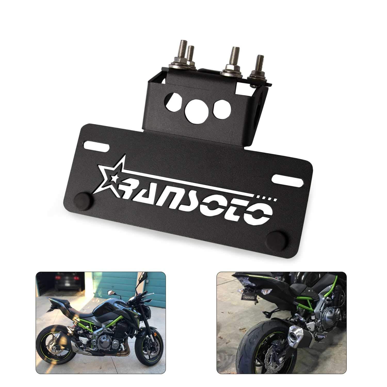 OT339 Support de plaque dimmatriculation moto Fender Eliminator Fit pour Yamaha MT 07 FZ 07 MT-07 FZ-07 2015-2019