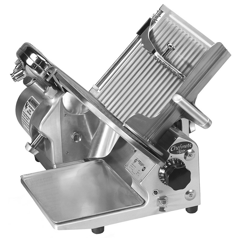 Table Top king Chefmate GC512 12'' Manual Gravity Feed Slicer - 1/3 hp - Restaurant Equipment
