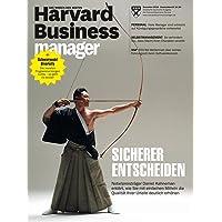 Harvard Business Manager 12/2016: Sicherer entscheiden